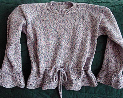 Kinderpulli, child's sweater