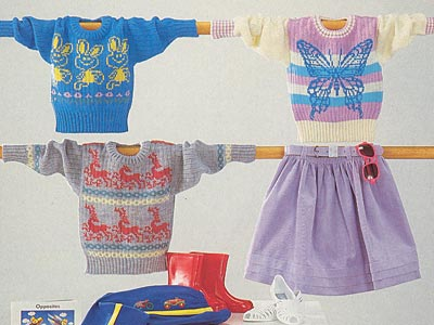 Kinderpullover, children's sweaters
